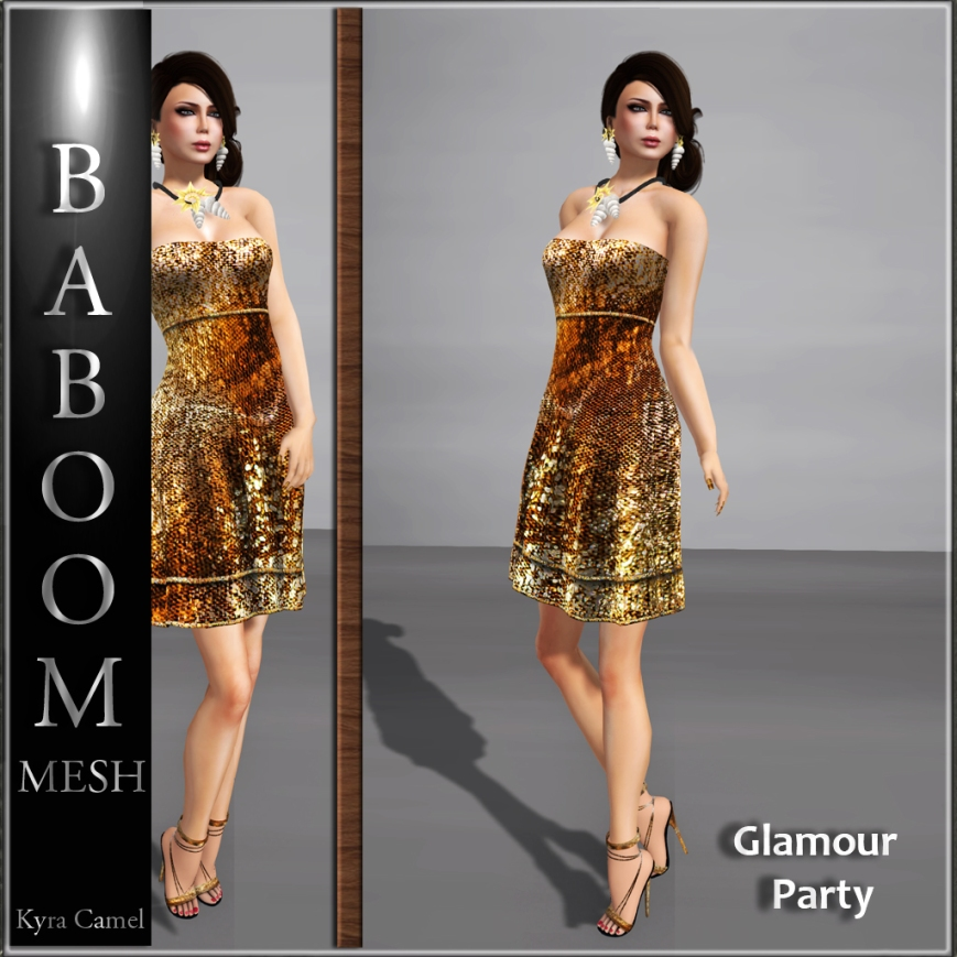 Meshdress-glamourparty