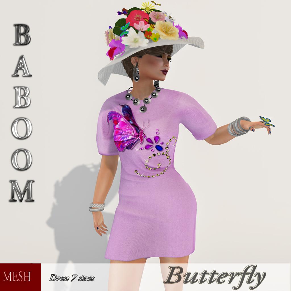 Baboom-Butterfly-meshdress-pinky