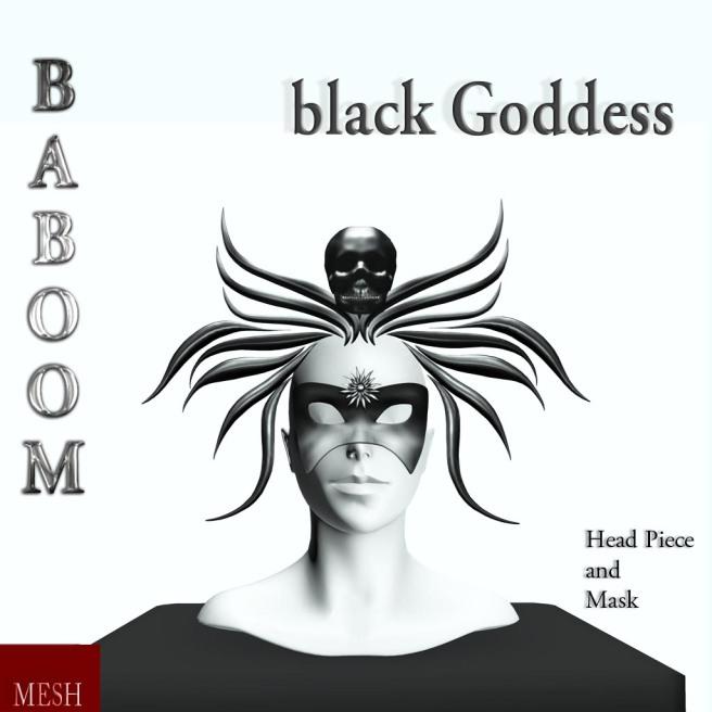 Baboom-black Goddess